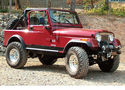 4in Jeep Lift Kit | CJ Series Gallery 1