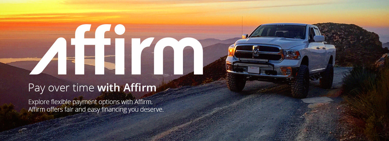 Affirm Financing - Easy Monthly Installments | Superlift