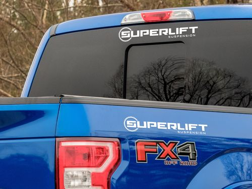 Superlift Windshield Decal