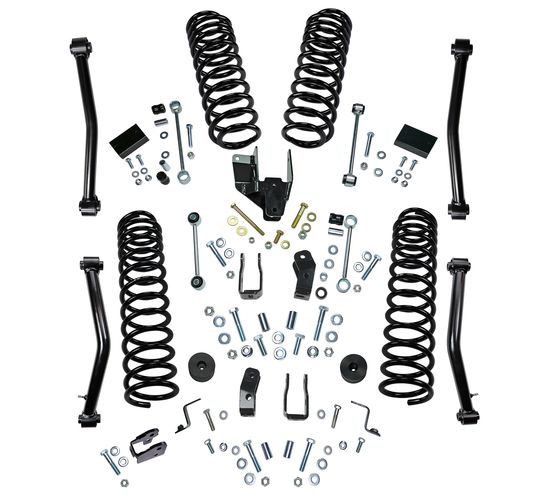 4in Jeep Lift Kit | JL Unlimited Dual Rate Coils