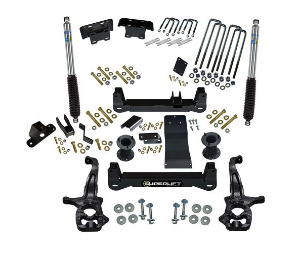 6 inch Lift Kit 2019 and Newer Chevy/GM 1500 4WD Gallery 4