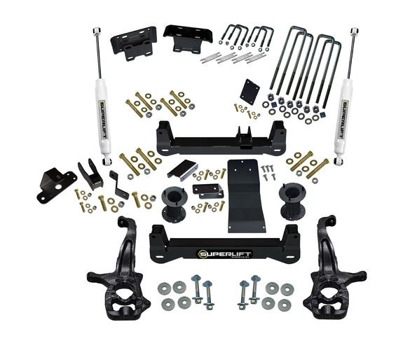 6 inch Lift Kit 2019 and Newer Chevy/GM 1500 4WD Gallery 5