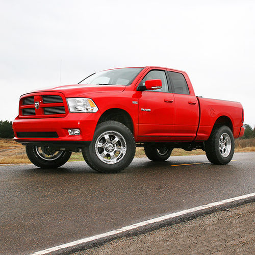 "Superlift 4 Lift Kit With Bilstein Shocks 2009 Dodge 2500: 4"" Dodge Lift Kit 09-11 Ram 1500 4WD"