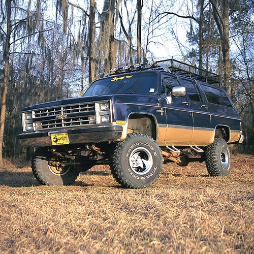 5.5in Chevy/GMC Lift Kit | Rear Block Kit Gallery 3