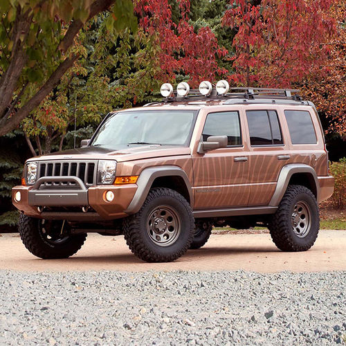 Jeep Lift Kits >> 4 Lift Kit 05 07 Jeep Grand Cherokee Commander Xk Superlift