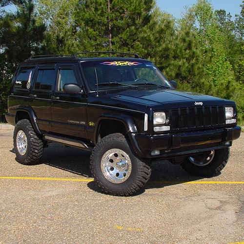 2.5in Jeep Lift Kit | Cherokee XJ Gallery 2