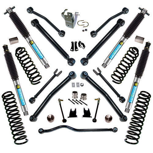 4in Jeep Lift Kit |Wrangler JK w/ Reflex Control Arms Gallery 3