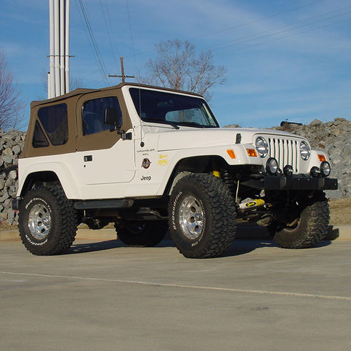 4in Jeep Lift Kit | TJ Series Gallery 4