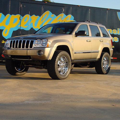 4 Lift Kit 05 07 Jeep Grand Cherokee Commander Xk Superlift