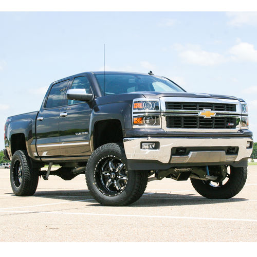 8in Chevy/GMC Lift Kit | Factory Aluminum/Stamped Control Arms w/ King Coilovers Gallery 1