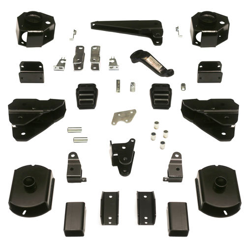 4in Dodge Lift Kit | Coil Spacer Kit w/ Shock Brackets Gallery 1