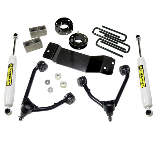 3.5in Chevy/GMC Lift Kit | Cast Steel Control Arms Gallery 1