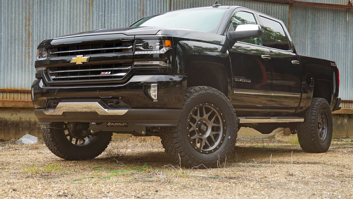 6.5in Chevy/GMC Lift Kit | Aluminum/Stamped Control Arms Gallery 3