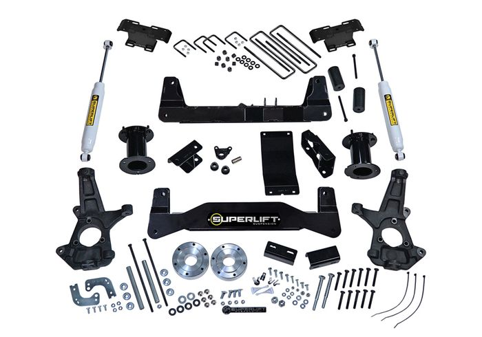6.5in Chevy/GMC Lift Kit | Aluminum/Stamped Control Arms