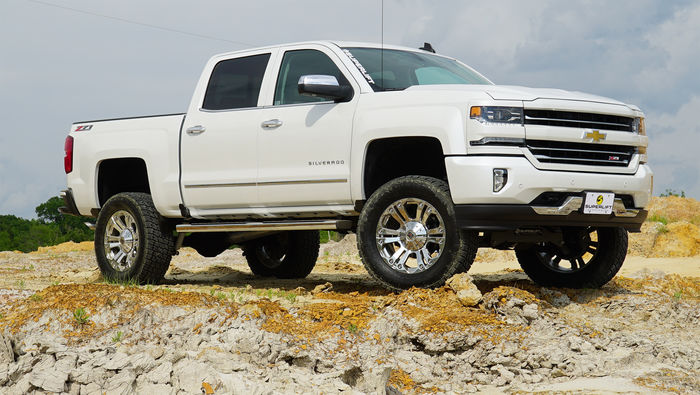 6.5in Chevy/GMC Lift Kit | Aluminum/Stamped Control Arms Gallery 2