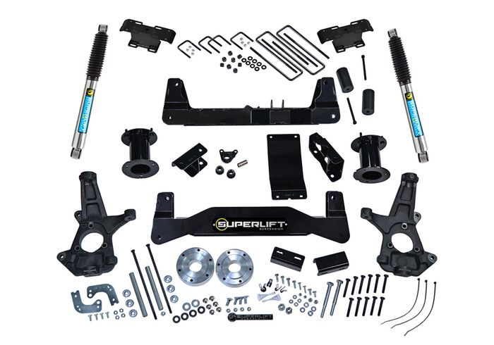 6.5in Chevy/GMC Lift Kit | Aluminum/Stamped Control Arms gallery 1