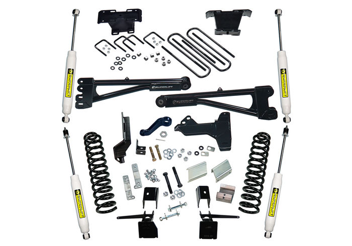 6in Ford Lift Kit | Radius Arms Kit Gallery