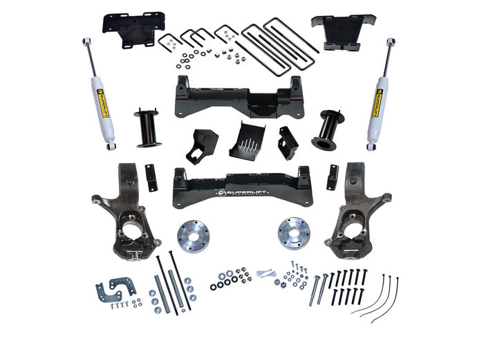8in Chevy/GMC Lift Kit | Aluminum/Stamped Control Arms Gallery