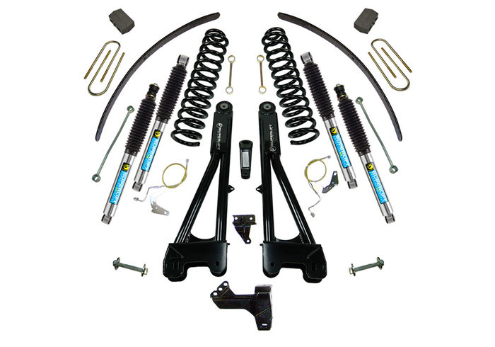 6in Ford Lift Kit | w/Replacement Radius Arms Gallery 1