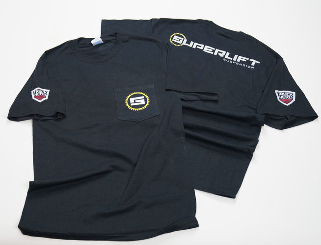 Jet Black Superlift T-Shirt Gallery