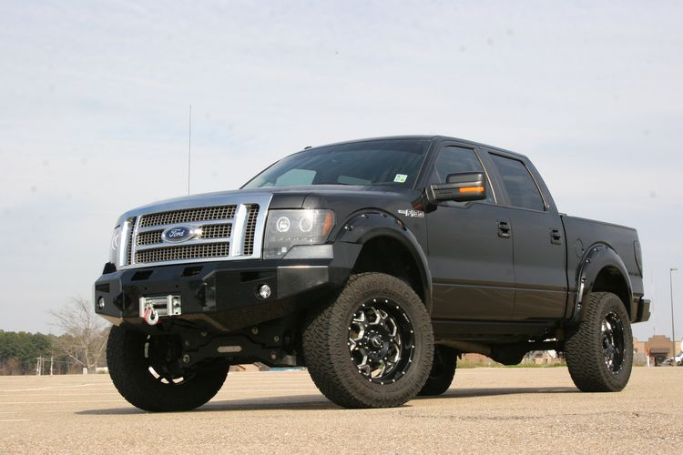 4.5in Ford Lift Kit Gallery 6