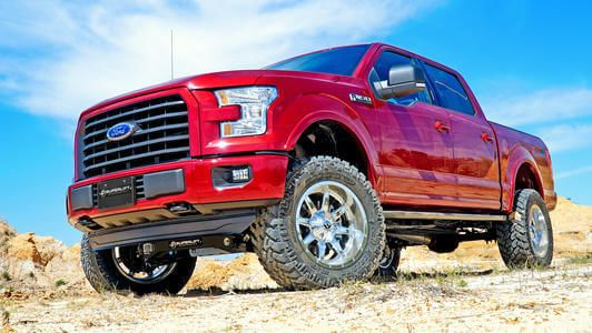 2015 F150 Lifted >> Superlift Suspension Lift Kit