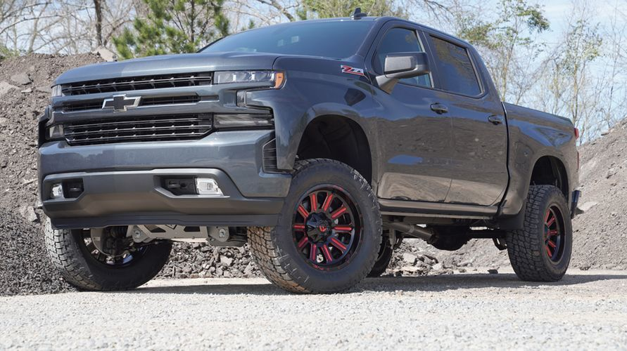 6 Inch Lift Kit For Chevy 1500 4wd >> 6 Inch Lift Kit 2019 And Newer Chevy Gm Silverado Sierra