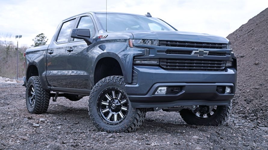 6 inch Lift Kit 2019 and Newer Chevy/GM 1500 4WD Gallery 1