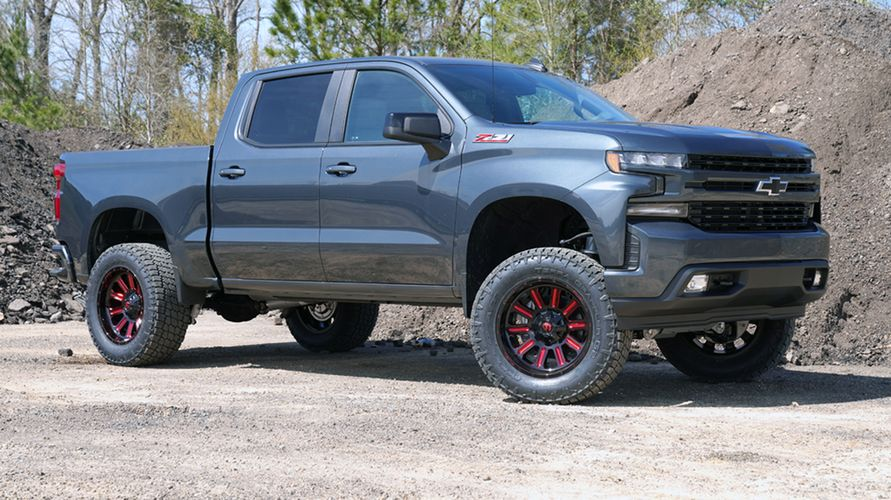 6 inch Lift Kit 2019 and Newer Chevy/GM 1500 4WD Gallery 3