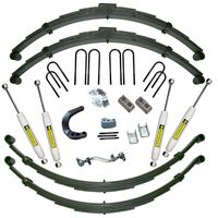 12in Chevy/GMC Lift Kit w/52in Rear Springs|Rear Spring Kit