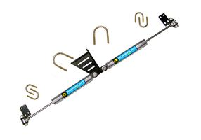 High Clearance Dual Steering Stabilizer Kit | Jeep w/Superlift SS by Bilstein