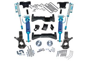 8in Chevy/GMC Lift Kit | Factory Aluminum/Stamped Control Arms w/ King Coilovers