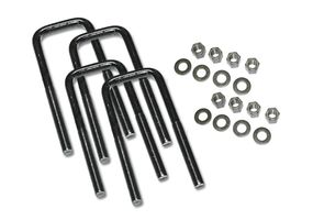U-Bolt 4 pack Square w/ Hardware