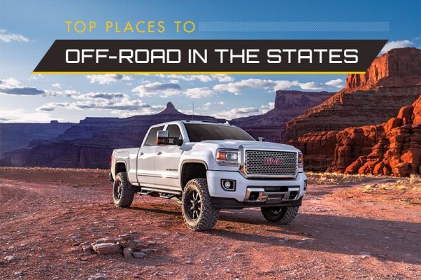 Top Places to Off-Road in the United States