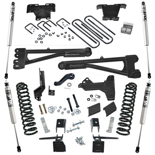 6in Ford Lift Kit | Radius Arms Kit Gallery 2