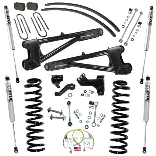 6in Ford Lift Kit | w/Replacement Radius Arms Gallery 2
