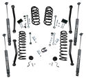 4 inch Lift Kit 2018 & Newer Jeep Wrangler JL Unlimited Door w/ Shadow Series Shocks Gallery 1