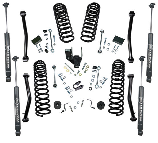 4 in Jeep Lift Kit | Wrangler JL 2-door | with Shock Extensions, Shadow, Fox 2.0, or King 2.0 Shocks Gallery 2