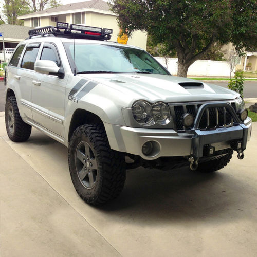 4 Lift Kit 05 07 Grand Cherokee Commander 4wd W Sl Rear Shocks Superlift Suspension