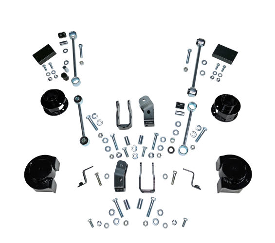 2.5 in Jeep Lift Kit | Wrangler JLU 4-Door | Coil Spacer Kits Gallery