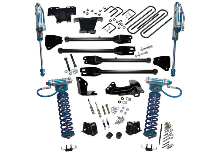4in Ford Lift Kit | 4-Link Conversion & King Coilover Gallery