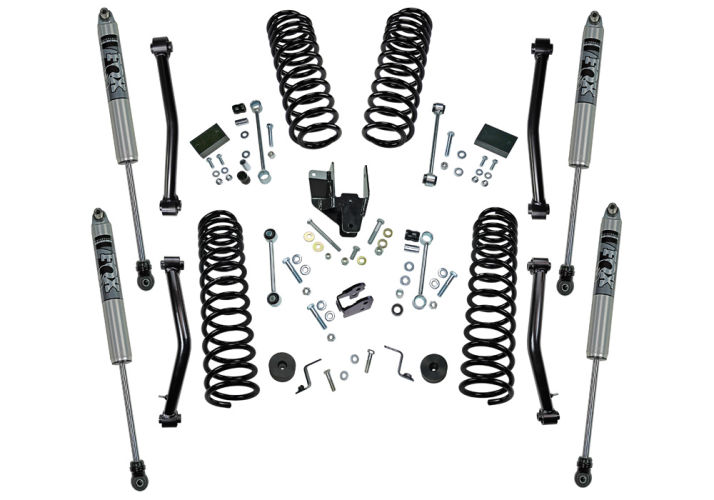 4 in Jeep Lift Kit | Wrangler JL 2-door | with Shock Extensions, Shadow, Fox 2.0, or King 2.0 Shocks Gallery 3
