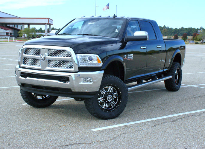 4in Dodge Lift Kit Gallery 3