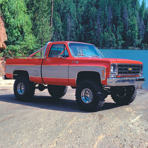 5.5in Chevy/GMC Lift Kit | Rear Block Kit Gallery 2