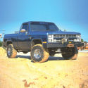4in Chevy/GMC Lift Kit | Rear Block Kit Gallery 1