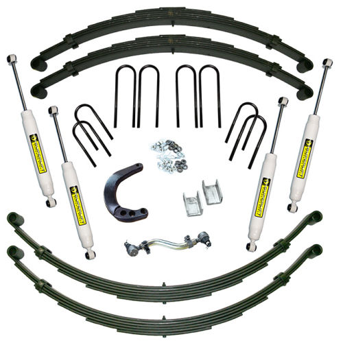 8in Chevy/GMC Lift Kit | Rear Spring Kit Gallery