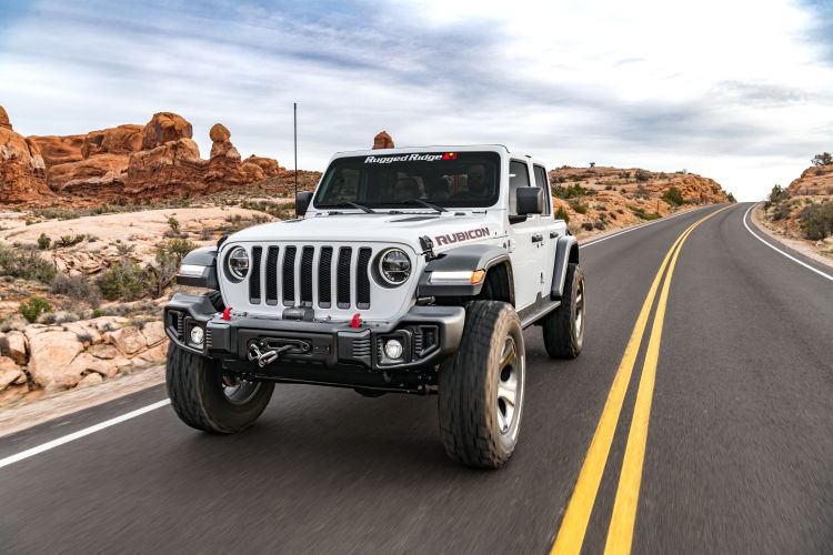 2.5 in Jeep Lift Kit | Wrangler JLU 4-door | with Shock Extensions, Shadow, Fox 2.0, or King 2.0 Shocks Gallery 5