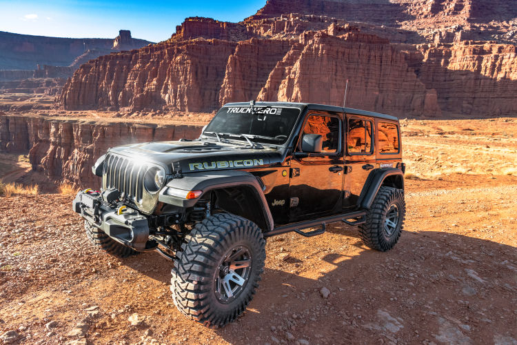 2.5 in Jeep Lift Kit | Wrangler JLU 4-door | with Shock Extensions, Shadow, Fox 2.0, or King 2.0 Shocks Gallery 4