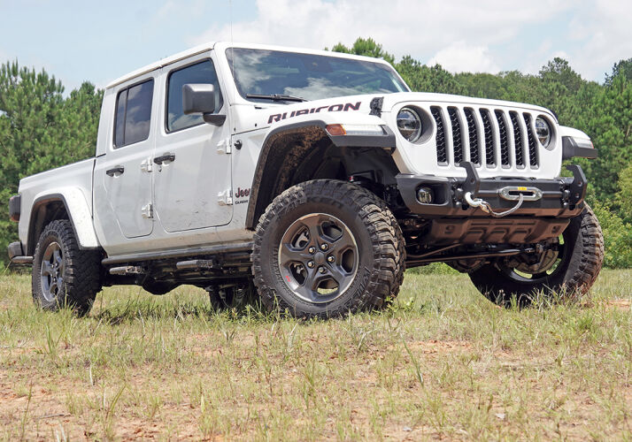 2.5 inch Front Leveling Kit Jeep Gladiator JT Gallery 1